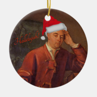 Handel portrait ornament - Messiah - Hallelujah