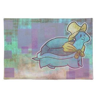 Handkerchief Turtle Grunge Placemat