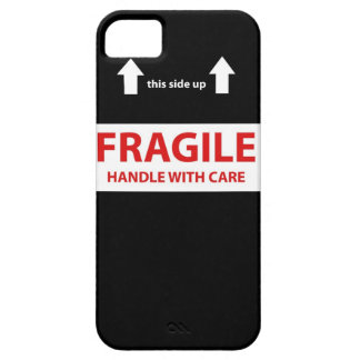 Handle with care iPhone 5 cover