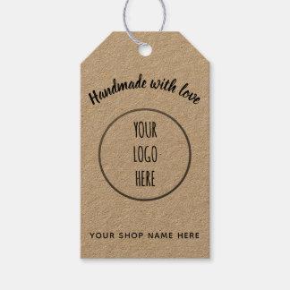 Handmade Shop • logo Gift Tags