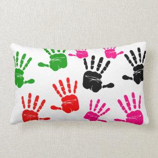 Handprint Throw Pillows