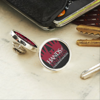 Hands of Kindness Lapel Pin