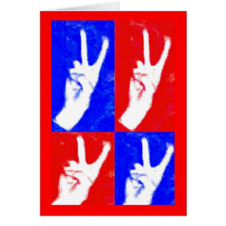 Hands of Peace Greeting Card