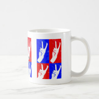 Hands of Peace-Lend Yours Classic White Coffee Mug