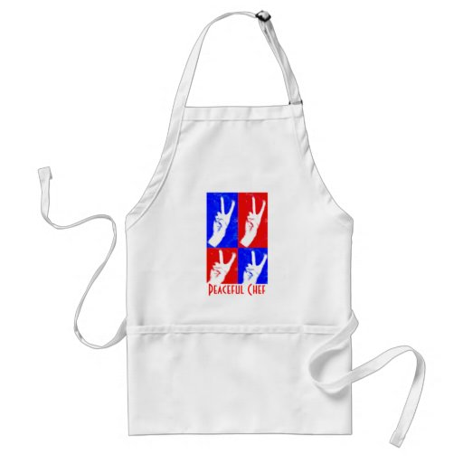 Hands of Peace-Peaceful Chef Apron