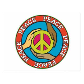 Hands of Peace Post Card