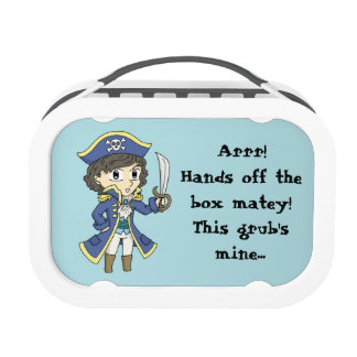 Hands off the grub! - Pirate lunchbox