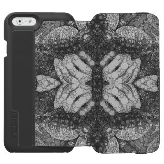 Hands Turtle Abstract Black&White Incipio Watson™ iPhone 6 Wallet Case