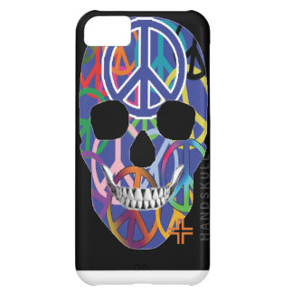 HANDSKULL Peace iPhone 5C Barely There Case-Mate iPhone 5C Case