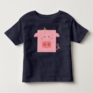 Handsome Piggy Toddler T-Shirt