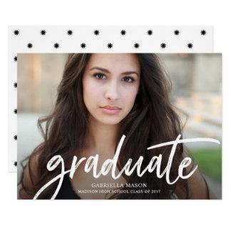 Handwritten Graduate Graduation Announcement
