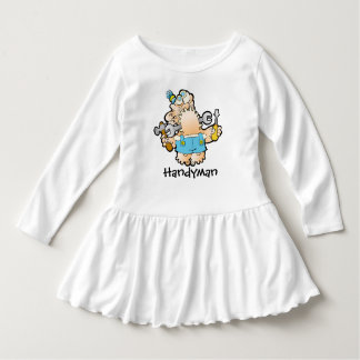 Handyman Toddler Dress