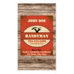 Handyman Vintage Business Card