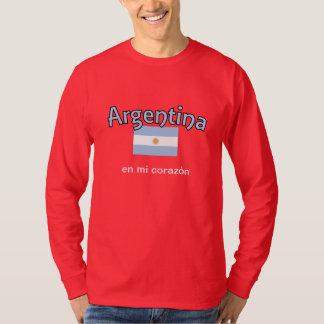 Hanes 'Argentina en mi corazon' Remera T-Shirt
