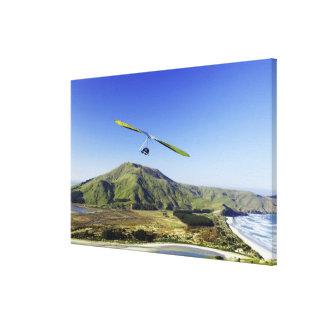 Hang Glider, Otago Peninsula, near Dunedin, Canvas Prints