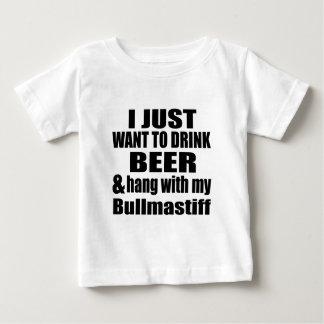 Hang With My Bullmastiff Baby T-Shirt