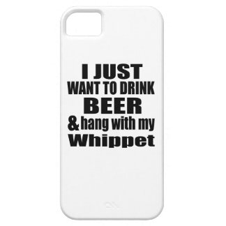 Hang With My Whippet Barely There iPhone 5 Case
