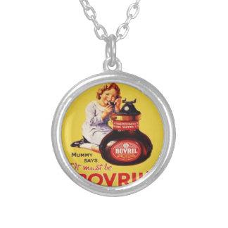 Hanging necklace Vintage Bovril