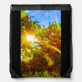 Hanging out Among the Trees Drawstring Bag