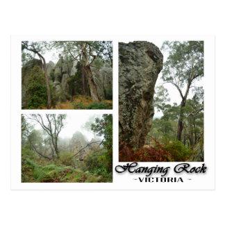 Hanging Rock, Victoria, Australia Postcard