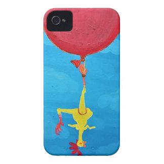 Hanging rubber chicken Case-Mate iPhone 4 cases