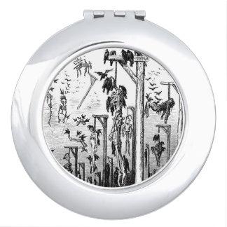 Hangmans Feast compact mirror