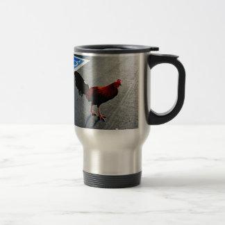 Hani Rooster Print Mugs