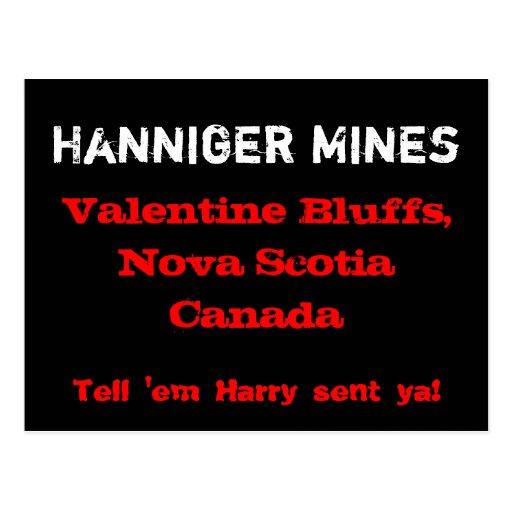 Hanniger Mines Postcard
