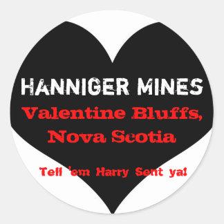 Hanniger Mines Stickers