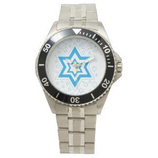 Hannukah-blue Watch