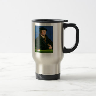 Hans Holbein-Portrait of a Member of Wedigh Family Coffee Mugs
