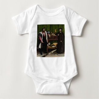 Hans Holbein the Younger's The Ambassadors Baby Bodysuit