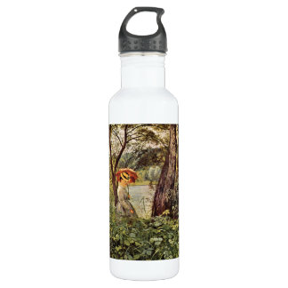 Hans Thoma - In the sunshine 710 Ml Water Bottle