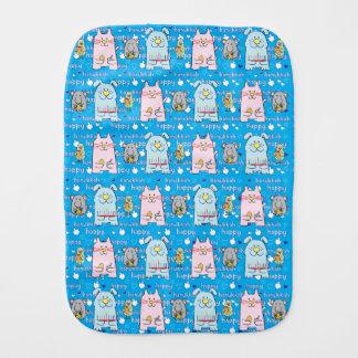 Hanukkah Burp Cloth for Baby