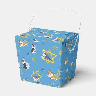 Hanukkah Corgi Gift Box Party Favour Box