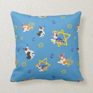 Hanukkah Corgis Pillow
