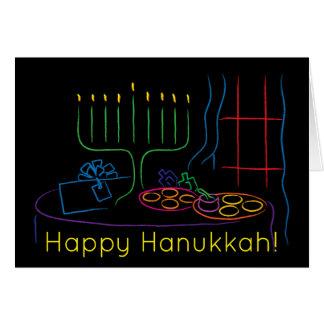 Hanukkah Greeting Card Personalize with envelope