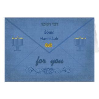 Hanukkah Money Envelope | Chanukah Monetary Gift Card