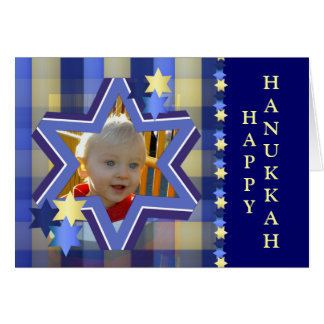 Hanukkah Photo Greeting Card