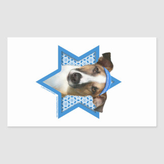 Hanukkah Star of David - Whollie - Coney Rectangular Sticker