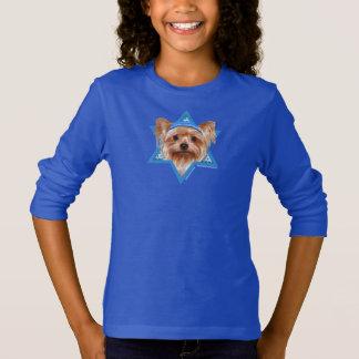 Hanukkah Star of David - Yorkshire Terrier T-Shirt
