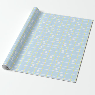"Hanukkah Wrapping Paper ""Sweet Blue & Yellow""!"
