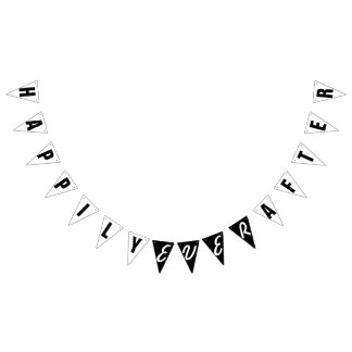 HAPPILY EVER AFTER WEDDING DECOR BUNTING