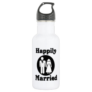 Happily Married 532 Ml Water Bottle
