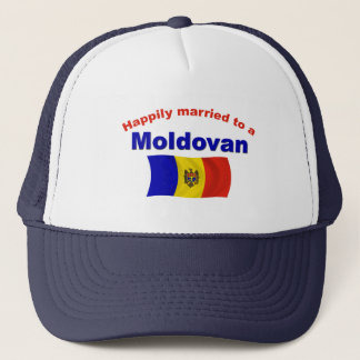Happily Married Moldovan Trucker Hat