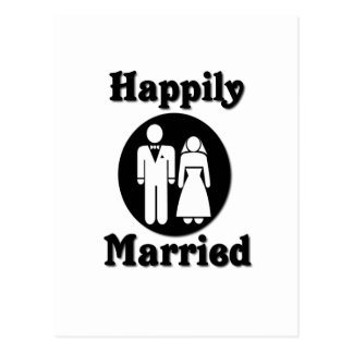 Happily Married Post Card