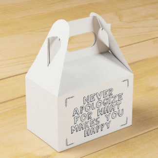 Happiness Favour Boxes