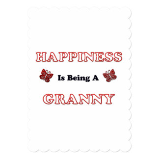 Happiness Is Being A Granny Card