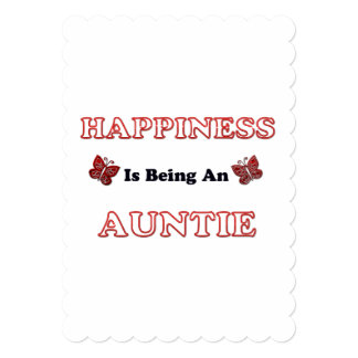 Happiness Is Being An Auntie Card