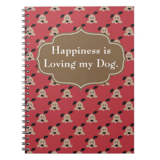 Happiness is Loving Dog Journal